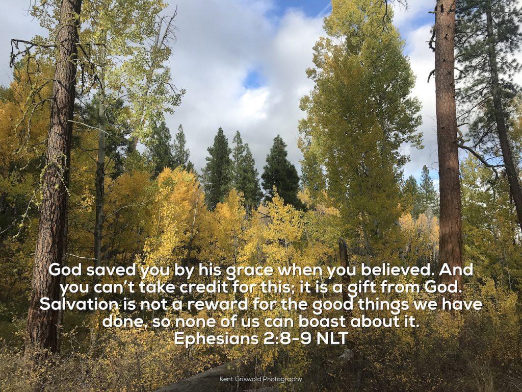 Grace - Ephesians 2:8-9