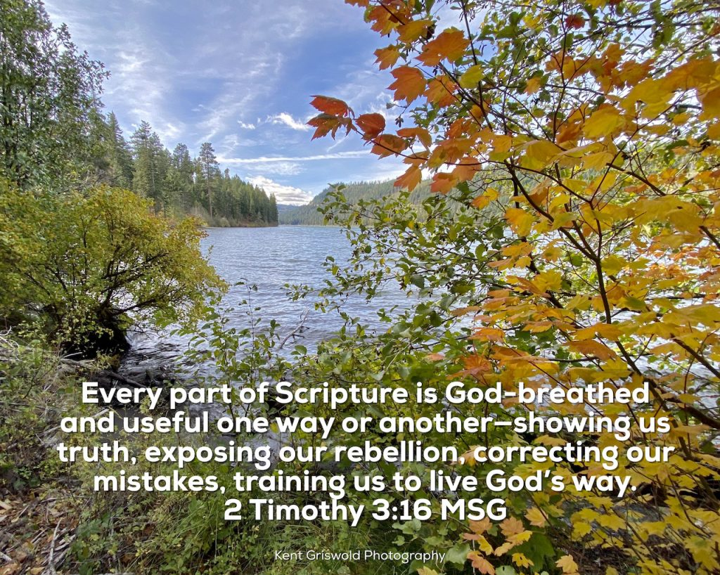 Training - 2 Timothy 3:16