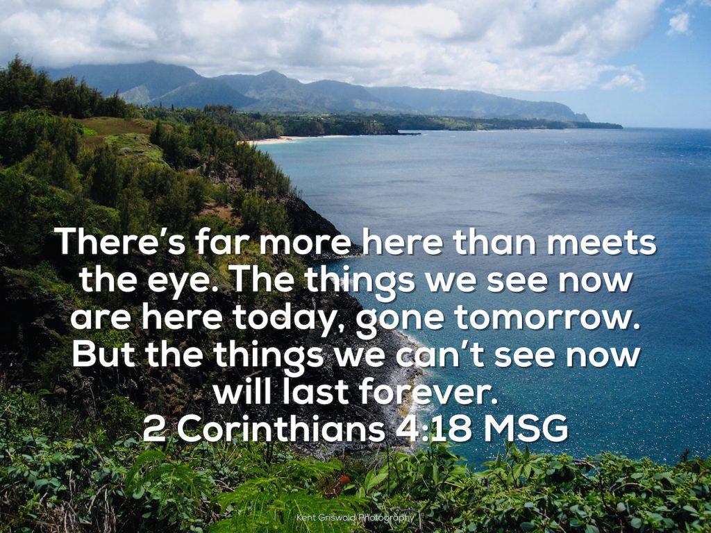 Confidence - Corinthians 4:18