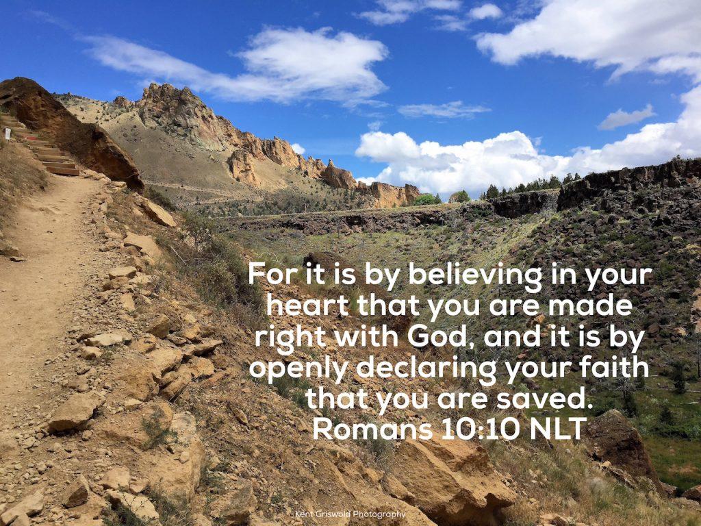 Believing - Romans 10:10