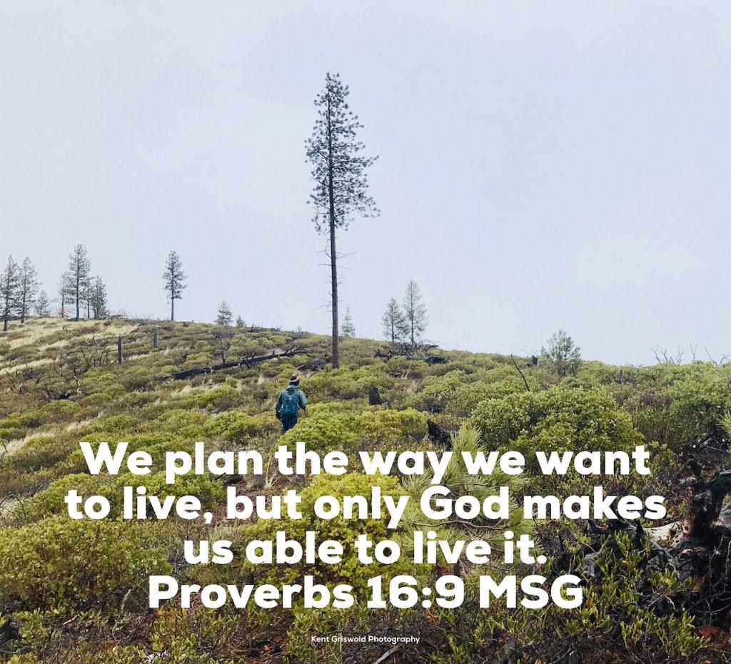 Choices - Proverbs 16:9