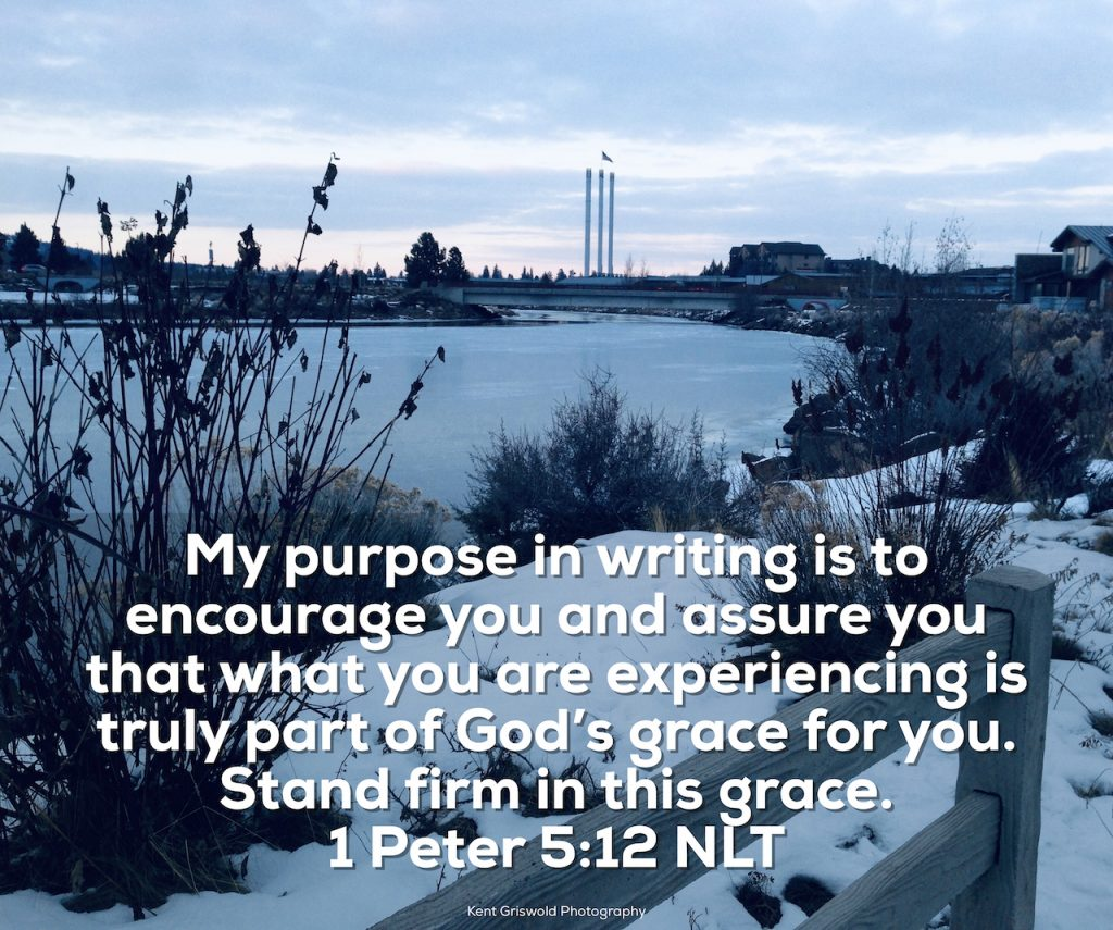 Grace - 1 Peter 5:12