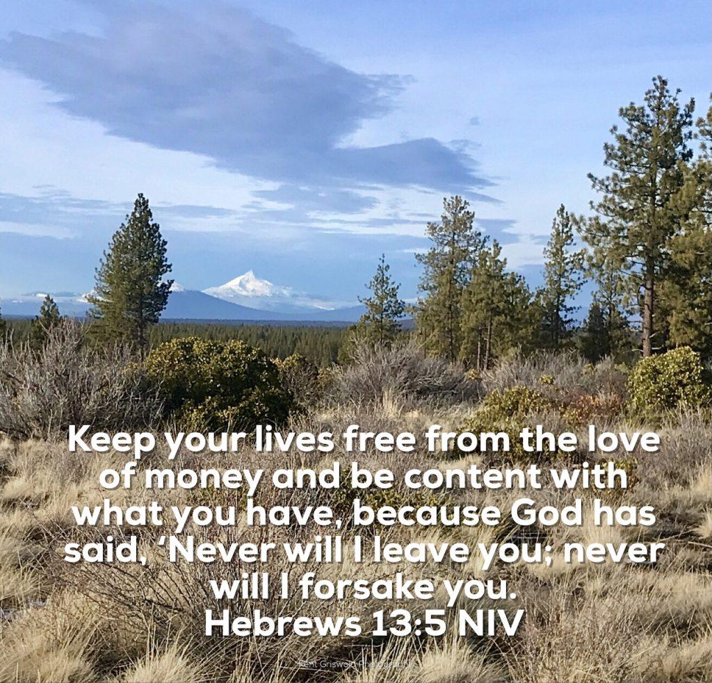 Money - Hebrews 13:5