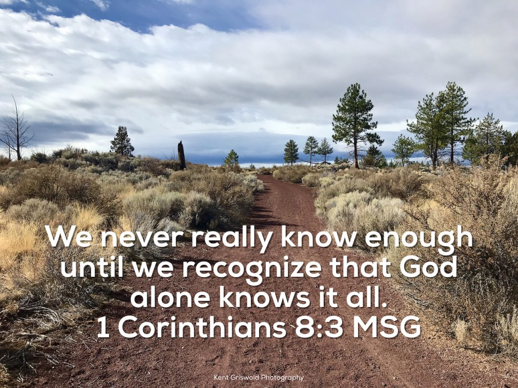 Wisdom - 1 Corinthians 8:3