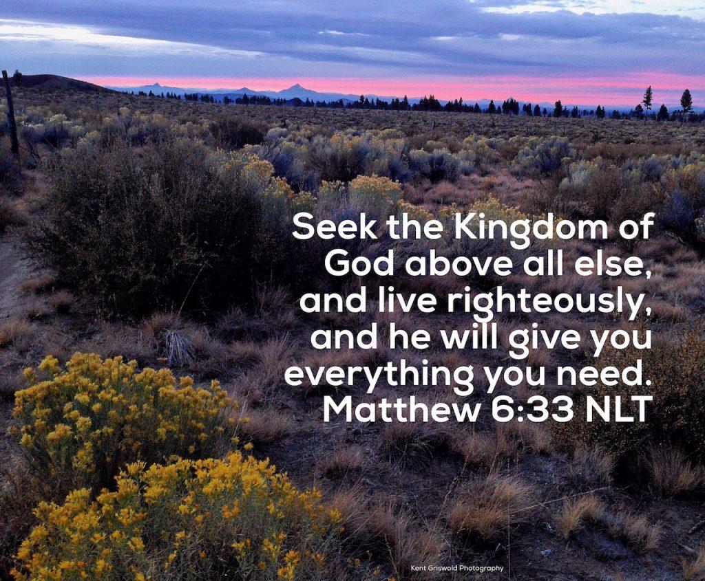 Kingdom - Matthew 6:33