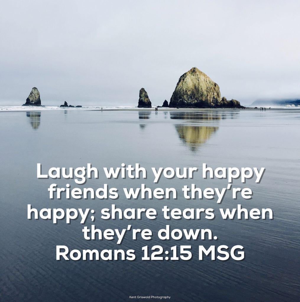 Laugh - Romans 12:15
