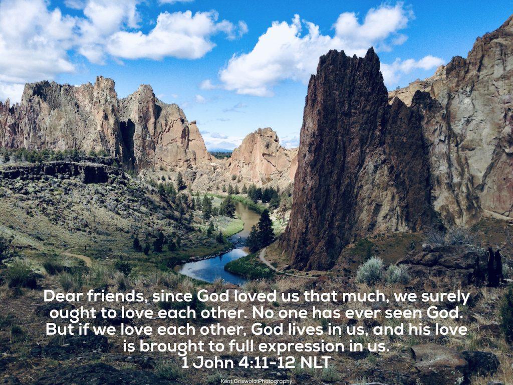 Love - 1 John 4:11-12