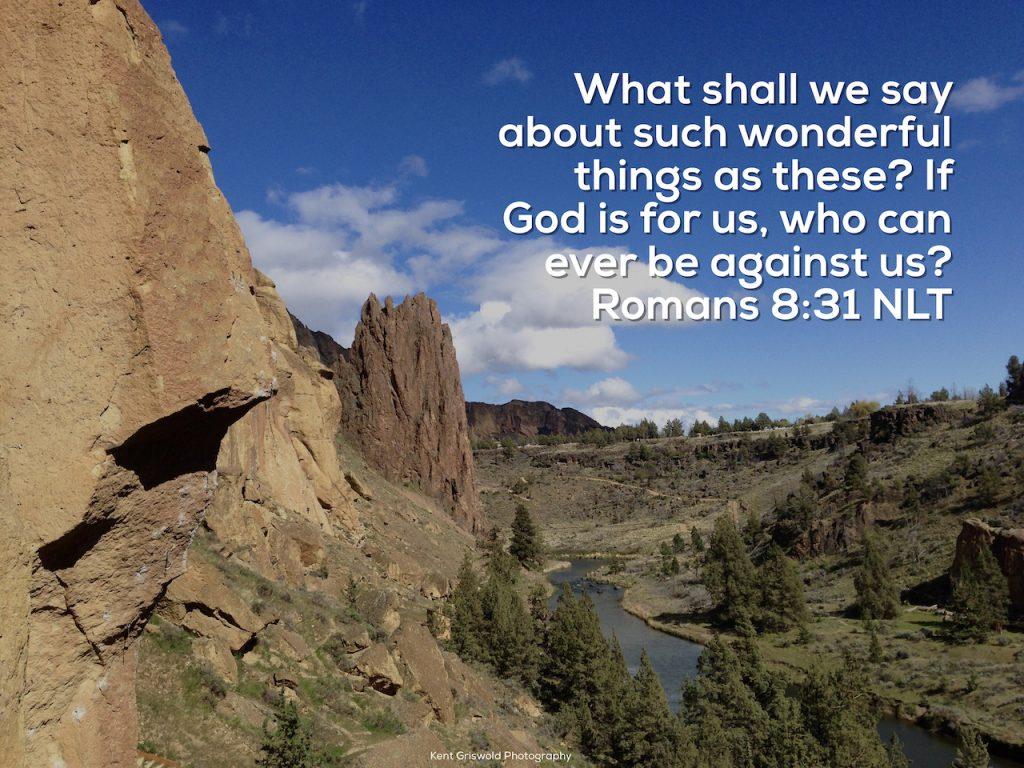 God for Us - Romans 3:31