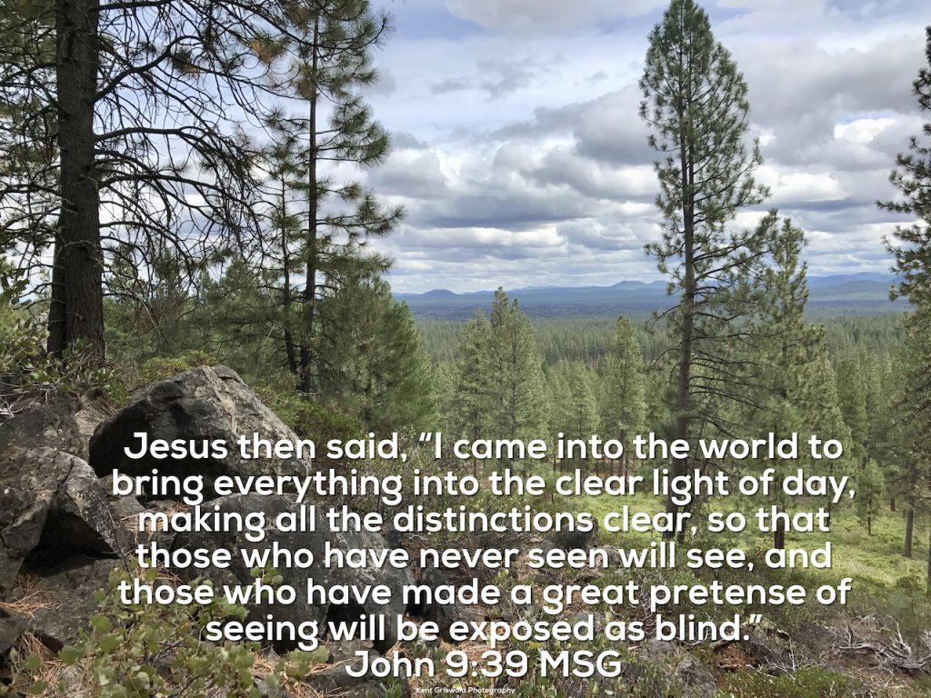 Light - John 9:39