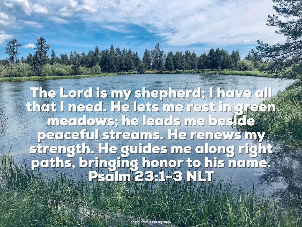 Shepherd - Psalm 23:1-3