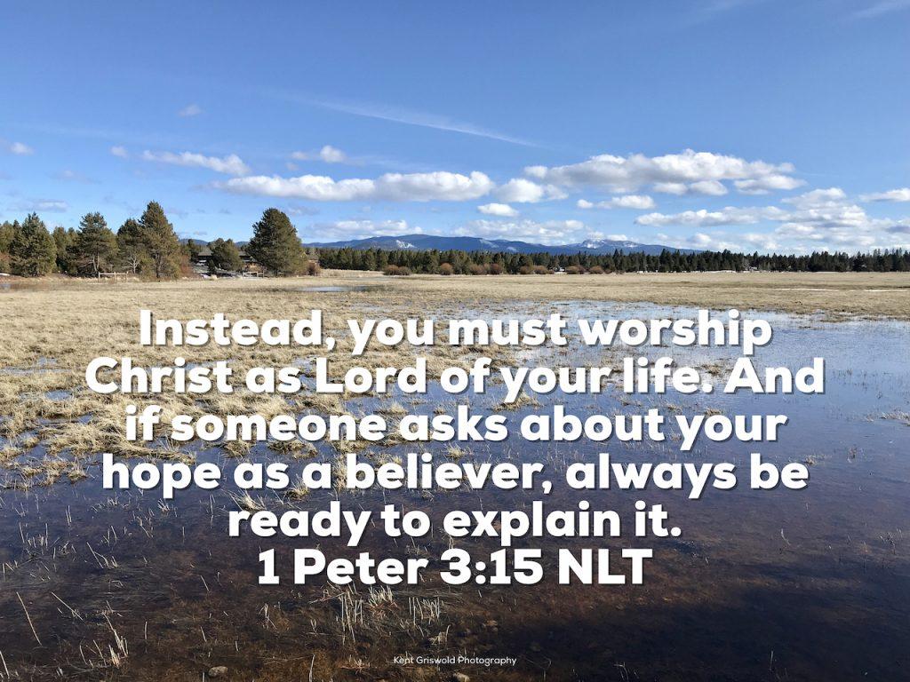 Worship - 1 Peter 3:15