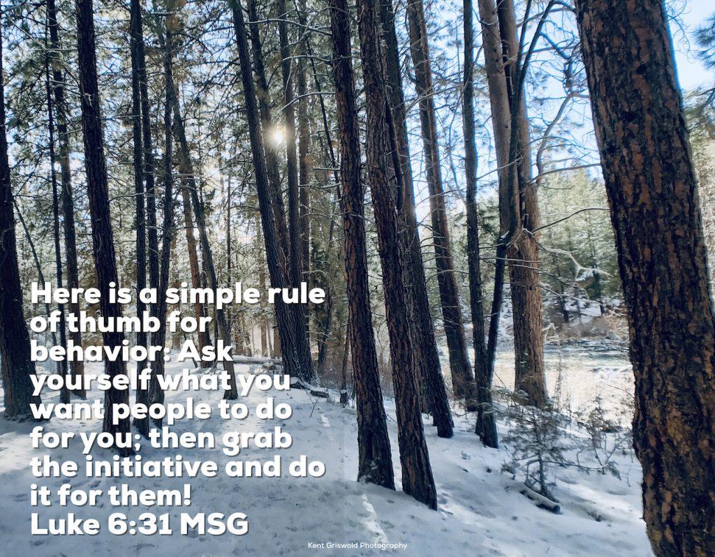 Behavior - Luke 6:31