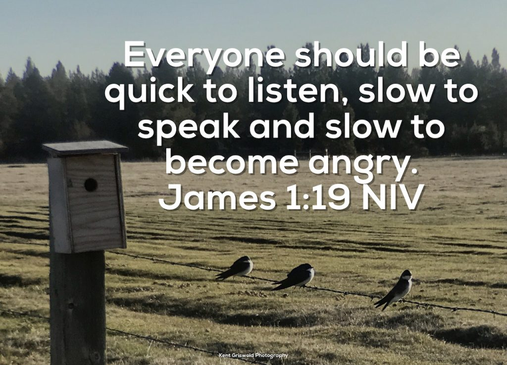 Anger - James 1:19