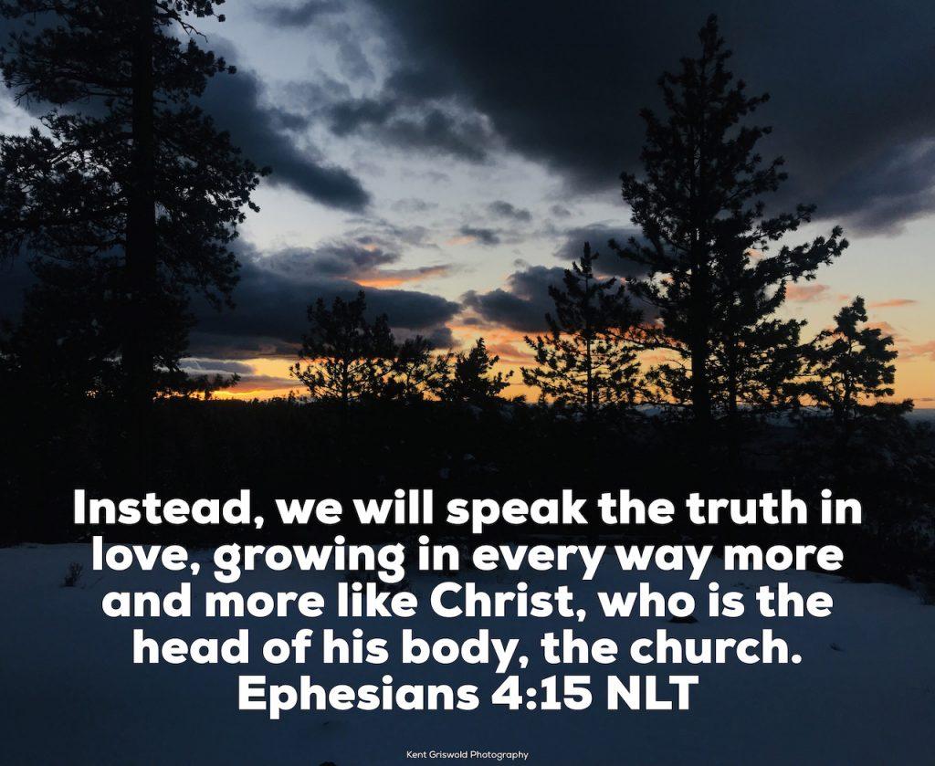 Love - Ephesians 4:15