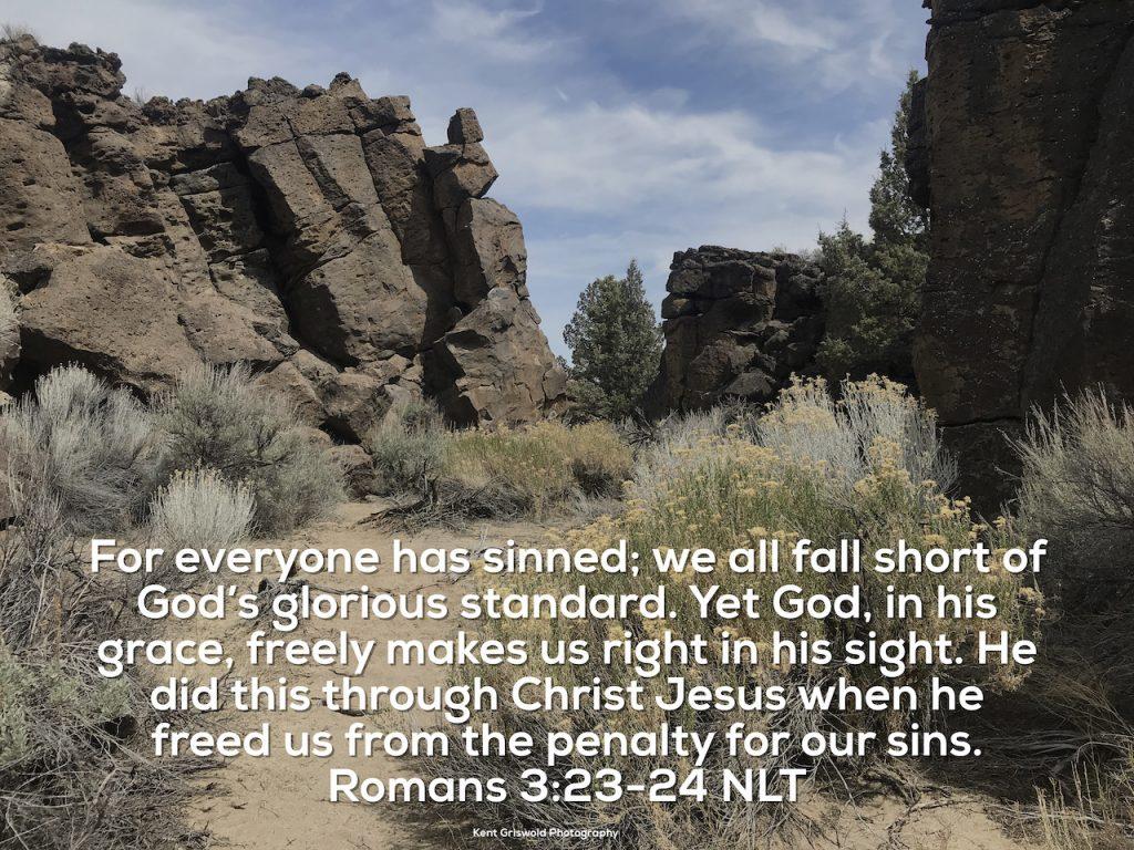 Sinned - Romans 3:23-24