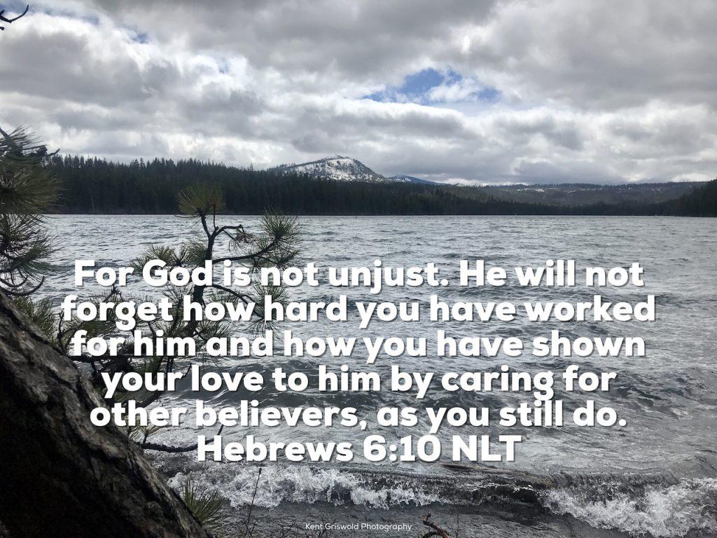Care - Hebrews 6:10