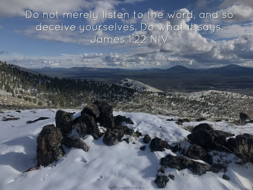 The Word - James 1:22