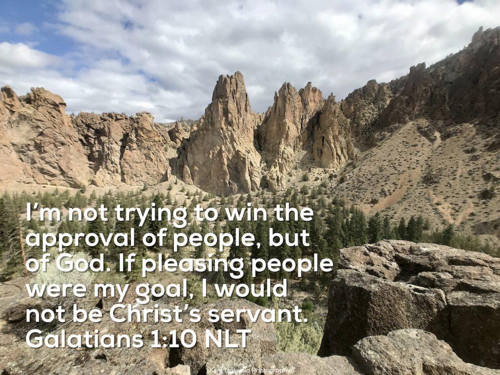 Approval - Galatians 1:10