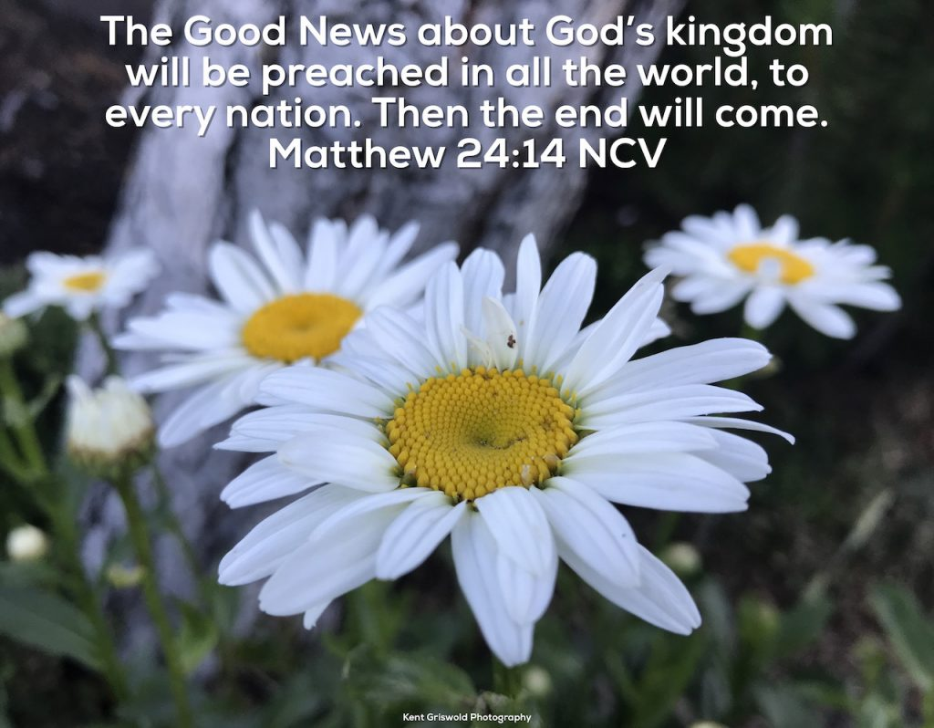 Good News - Matthew 24:14