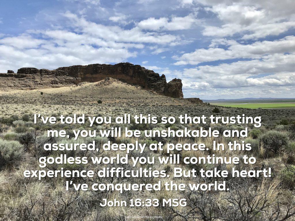 Peace - John 16:33