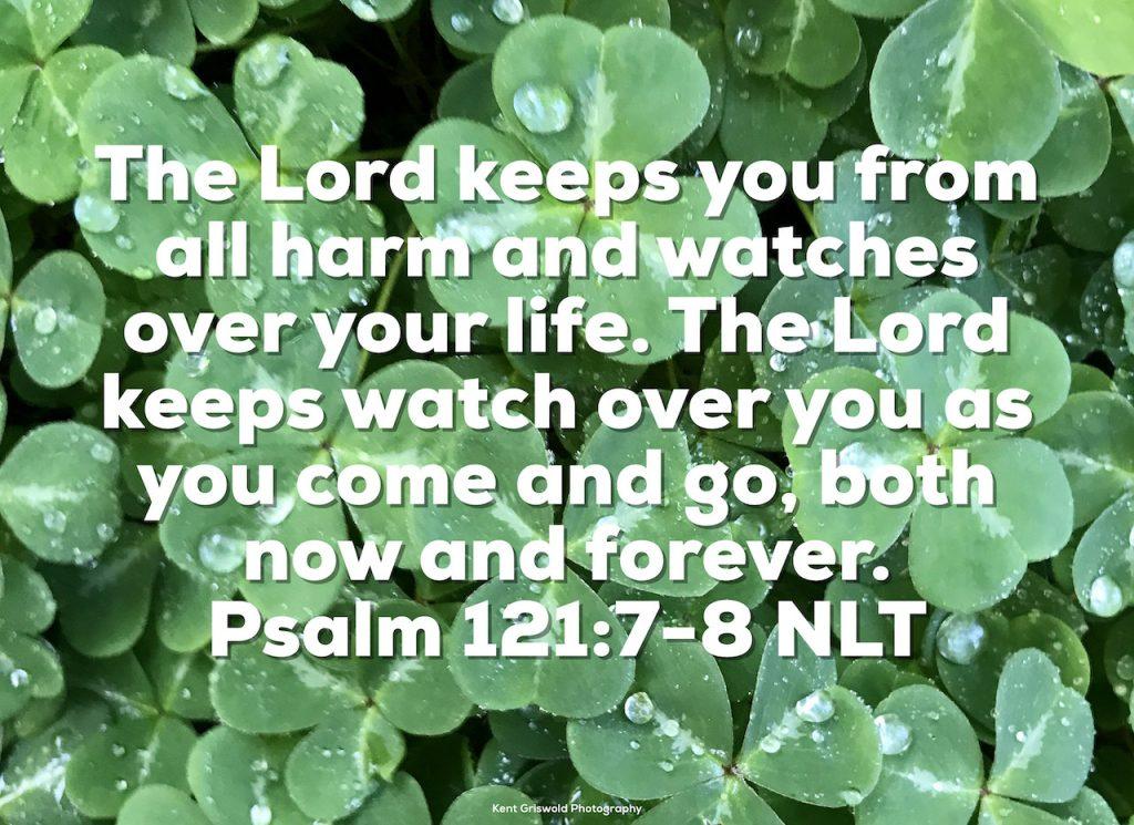 Watch - Psalm 121:7-8
