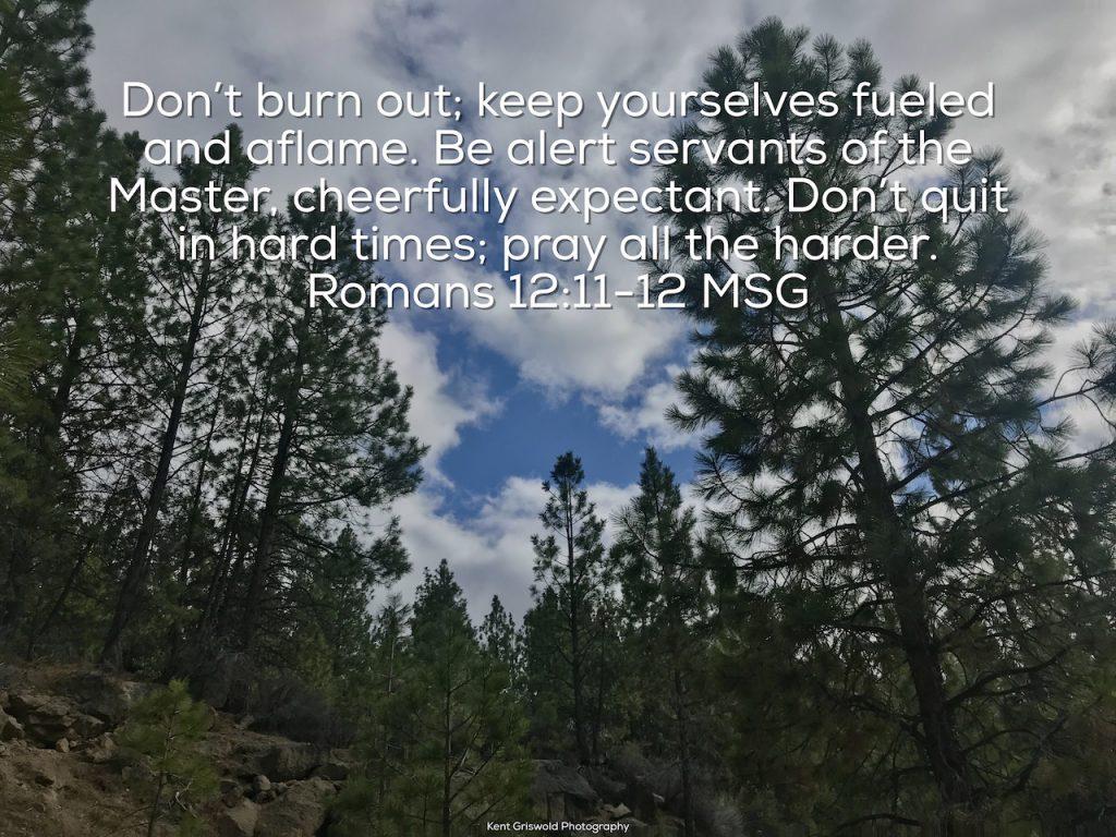 Alert - Romans 12:11-12