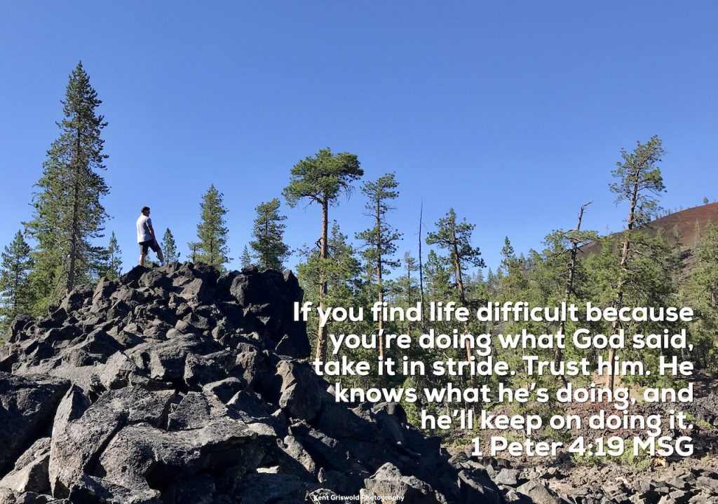 Difficult - 1 Peter 4:19