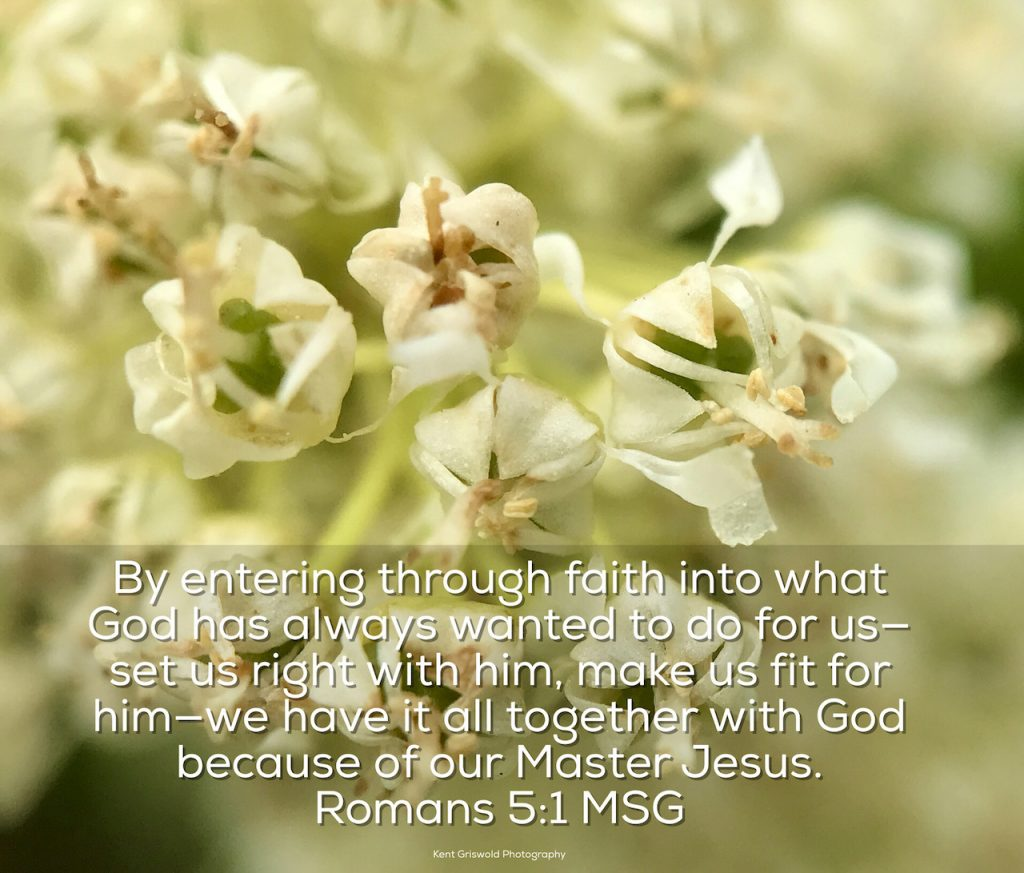 Faith - Romans 5:1