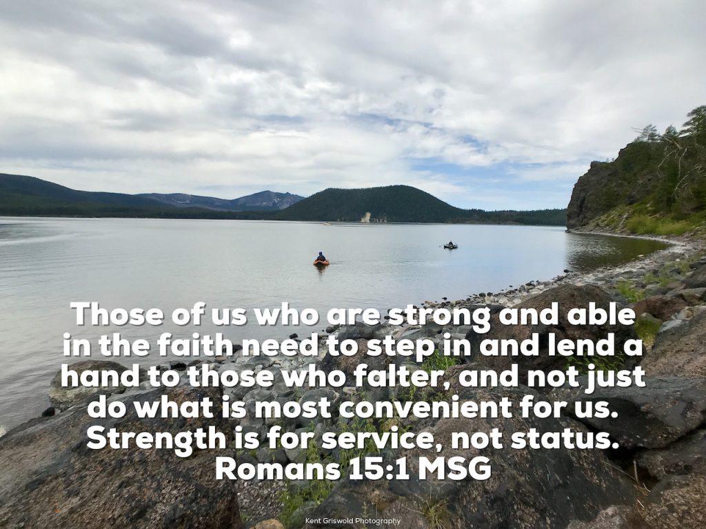Faith - Romans 15:1