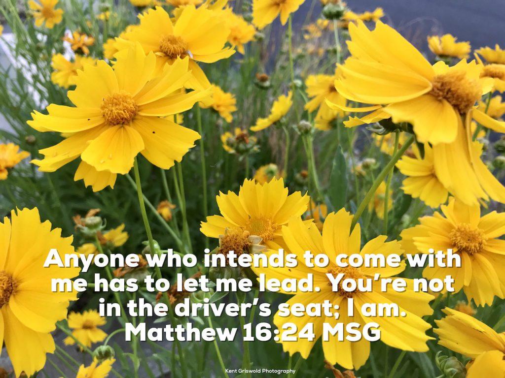 Lead - Matthew 16:24