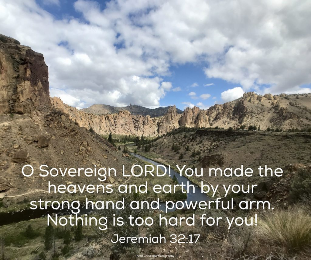 Power - Jeremiah 32:17