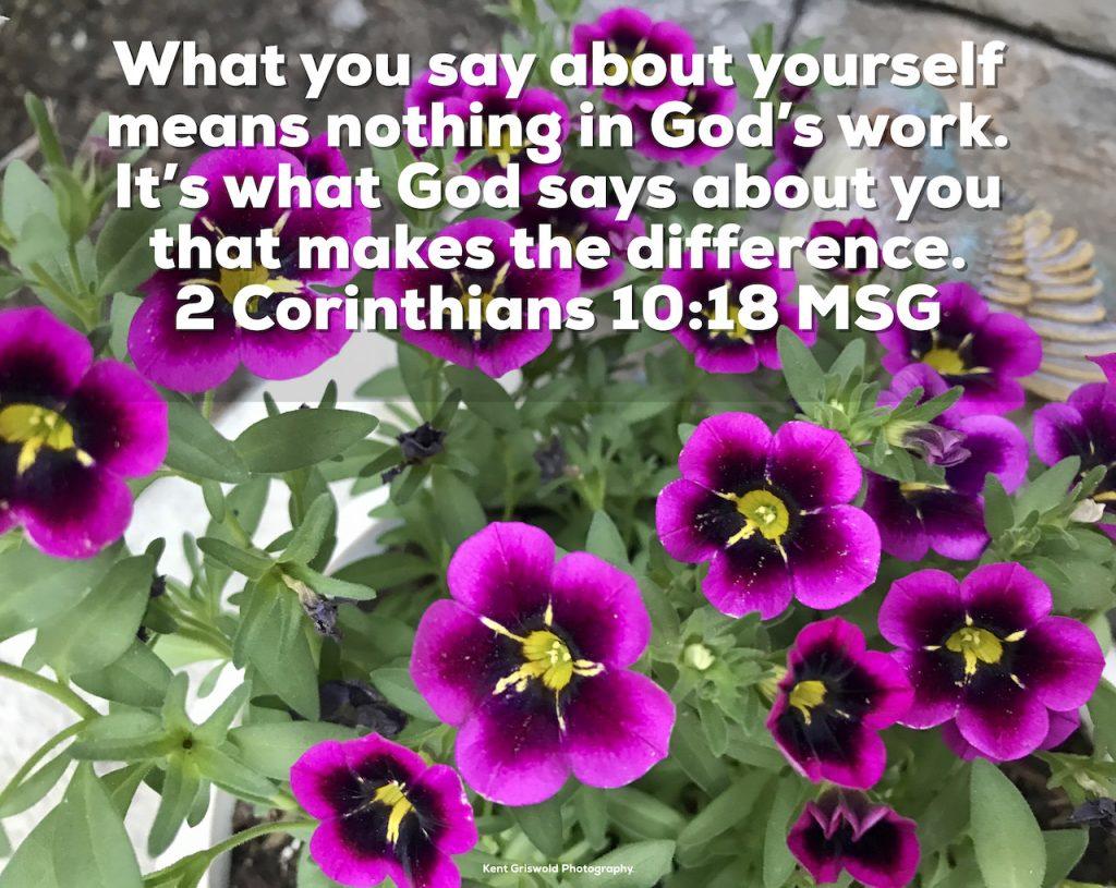 Pride - 2 Corinthians 10:18