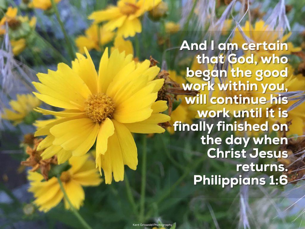 Work - Philippians 1:6