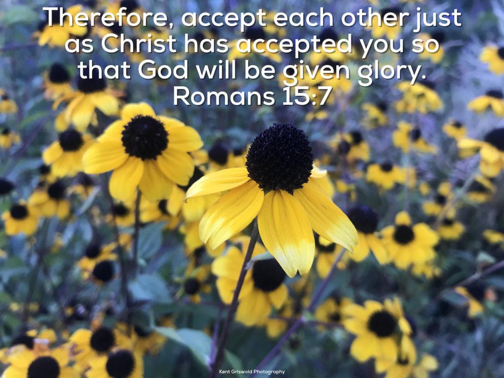 Acceptence - Romans 15:7