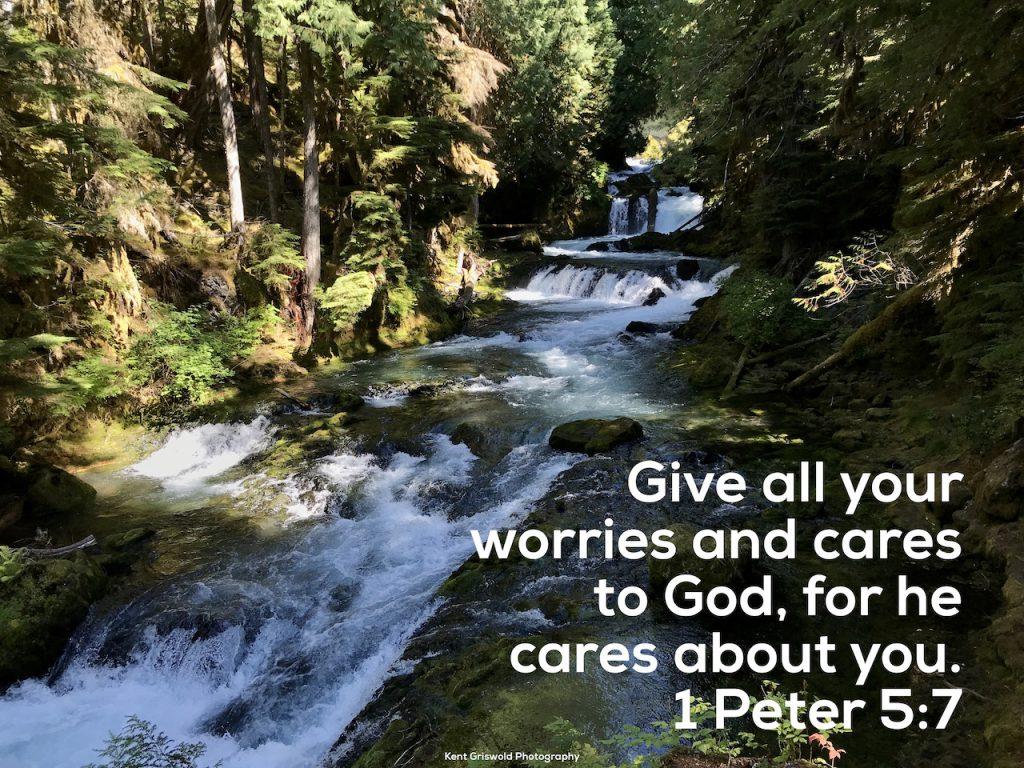 Cares - 1 Peter 5:7