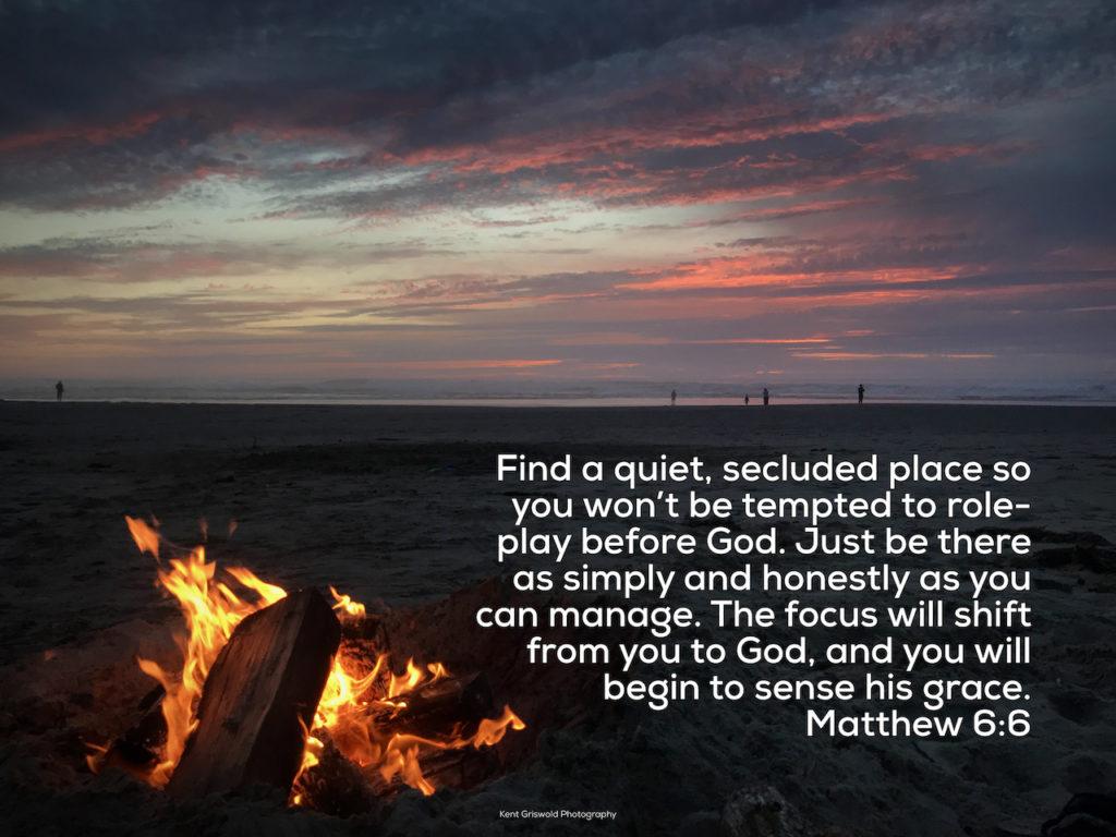 Grace - Matthew 6:6