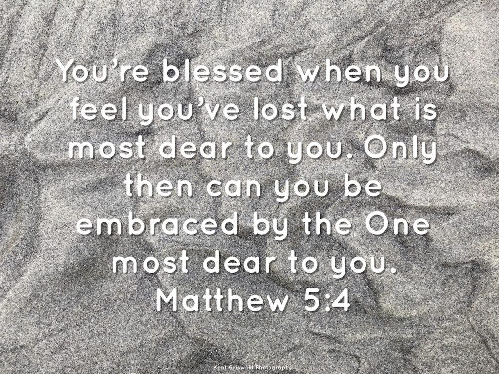 Grief - Matthew 5:4
