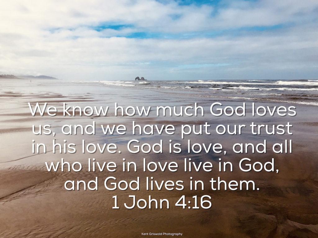 Trust - 1 John 4:16