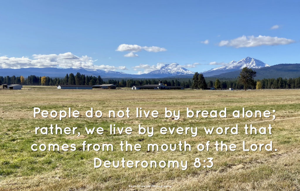 Bread - Deuteronomy 8:3