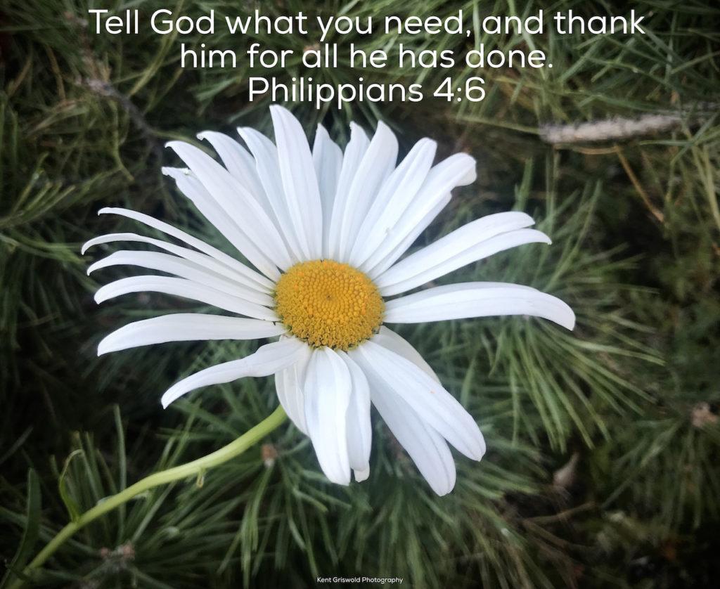 Needs - Philippians 4:6