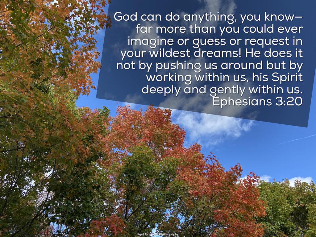 Spirit - Ephesians 3:20