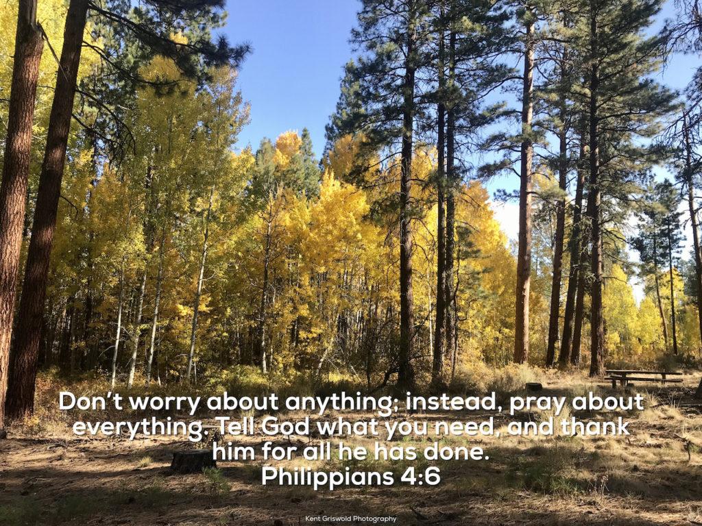 Worry - Philippians 4:6